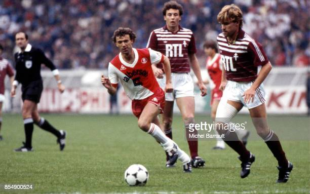 Jean Philippe ROHR Metz / Monaco Finale Coupe de France 1984
