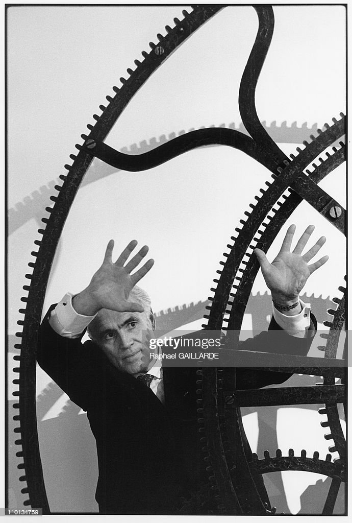 Jean Piaget in Venice,Italy in February,1999. : Foto jornalística
