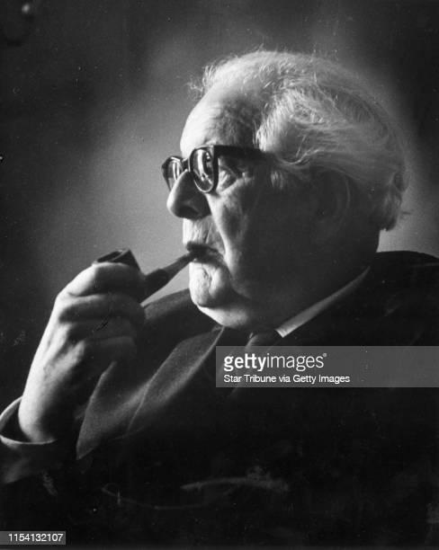 Jean Piaget psychologist researcher author Photo Sept 27 by Minneapolis Star Tribune staff photographer Powell Krueger