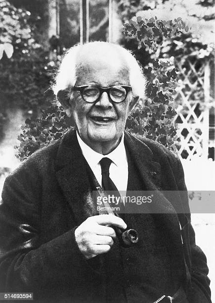 Jean Piaget Swiss psychologist and teacher Author of The Child and Reality Undated photograph