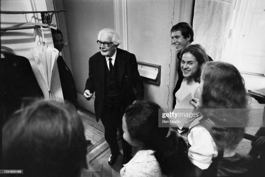 Jean Piaget : News Photo