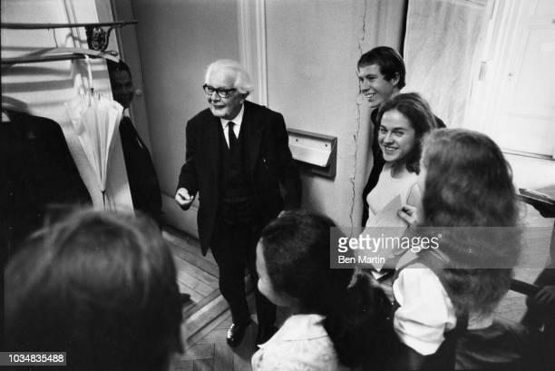 Jean Piaget Swiss psychologist known for his work in child development with students at the University of Geneva July 5th 1969
