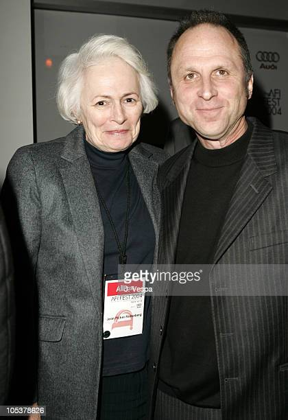Jean Picker Firstenberg and Bob Berney during 2004 AFI Film Festival The Woodsman Arrivals at ArcLight Hollywood in Hollywood California United States