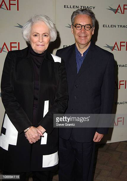 Jean Picker Firstenberg and Howard Shore during 2004 AFI Awards Luncheon at Four Seasons in Beverly Hills California United States