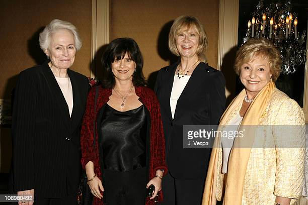 Jean Picker Firstenberg CEO of the American Film Institute Cathleen Leslie Event CoChair Carol Mitchell AFI Associates President and Elaine Abramson