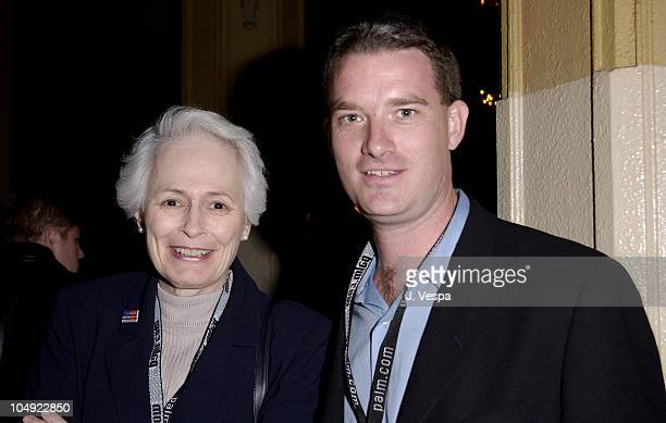 Jean Picker Firstenberg Christian Gaines during AFI Film Festival 2001 Lion's Gate Films Lantana Premiere at Pacific Theatre in Los Angeles...