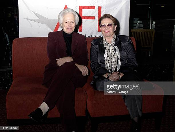 Jean Picker Firstenberg Director CEO of the AFI and Roseanne