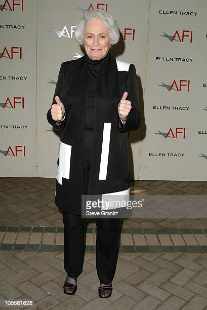 Jean Picker Firstenberg during 2004 AFI Awards Luncheon at Four Seasons in Beverly Hills California United States