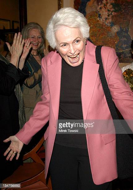 Jean Picker Firstenberg during Surprise Luncheon to Honor AFI President and CEO Jean Picker at Spago Beverly Hills in Beverly Hills California United...