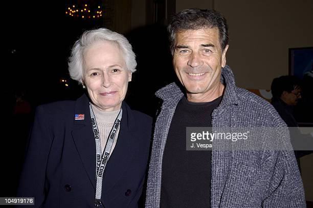 Jean Picker Firstenberg of AFI and Robert Forster during AFI Film Festival 2001 Lion's Gate Films Lantana Premiere at Pacific Theatre in Los Angeles...