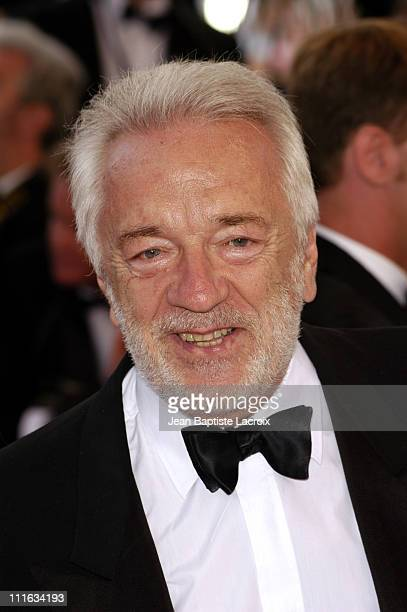 Jean Pierre Cassel during 2003 Cannes Film Festival Closing Ceremony Arrivals at Palais des Festivals in Cannes France