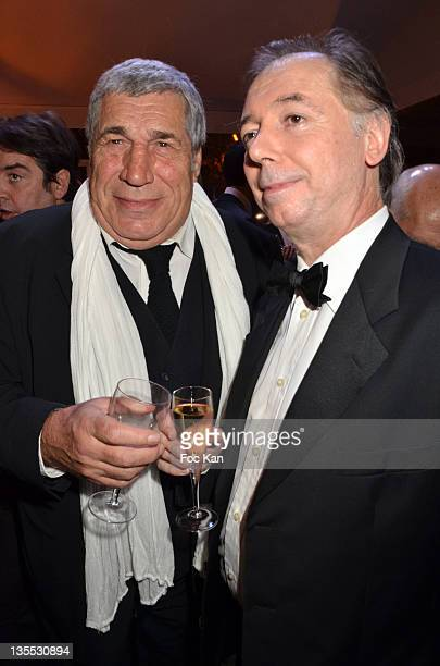 Jean Pierre Castaldi and Philippe Chevallier attend The Best Awards 2011 Ceremony at Pavillon Dauphine on December 11 2011 in Paris France
