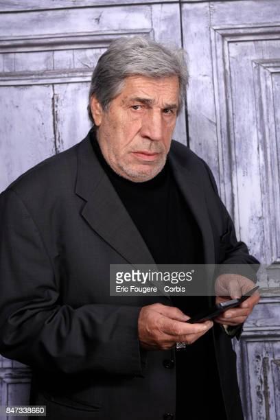 Jean Pierre Castaldi poses during a portrait session in Paris France on