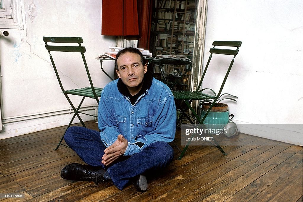 Jean Pierre Ceton, writer in France in November, 1996.
