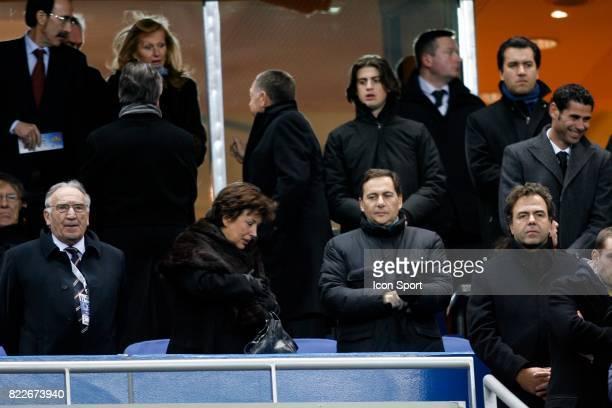 Jean Pierre ESCALETTES / Roselyne BACHELOT / Eric BESSON France / Espagne Match amical Stade France Saint Denis Paris