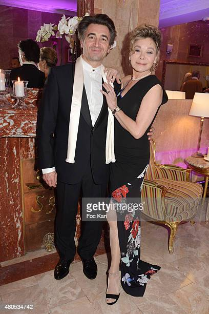 Jean Pierre Jacquin and Grace de Capitani attend 'The Best' Awards 2014 Ceremony At Salons Hoche on December 15 2014 in Paris France