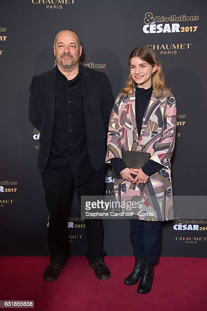 Jean Pierre Jeunet and Galatea Bellugi attend the 'Cesar Revelations 2017' on January 16 2017 in Paris France