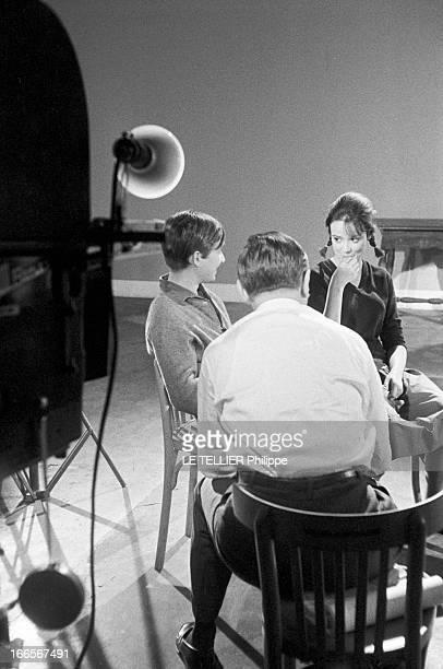 Jean Pierre Léaud For The Casting Of 'Boulevard' By Julien Duvivier France le 8 juin 1960 lors du casting du film de Julien DUVIVIER avec JeanPierre...