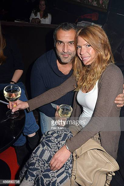 Jean Pierre Martins and Alexandra Genoves attend 'Les Invites de La Fete30 Ans D'Histoires A Canal ' Philippe Dana and Leon Marcadet Book Launch...