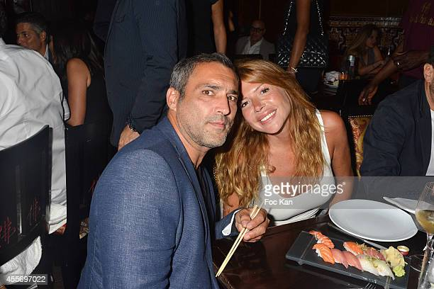 Jean Pierre Martins and Alexandra Genoves attend the Buddha Bar 18th Anniversary Party on September 18 2014 in Paris France