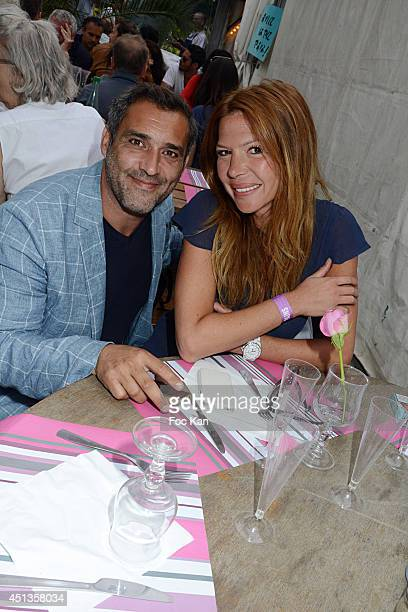 Jean Pierre Martins and Alexandra Genoves attend the Fete des Tuileries' Opening Party Hosted By Marcel Campion At Jardin des Tuileries on June 27...