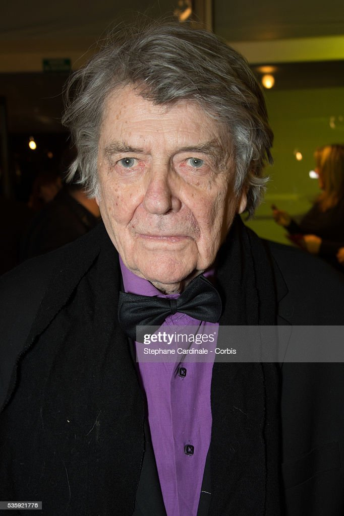 Jean Pierre Mocky attend the Sidaction Gala Dinner at Pavillon d'Armenonville, in Paris.