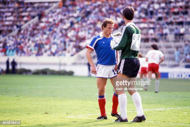 Jean Pierre PAPIN France / Canada Coupe du Monde 1986 Photo Alain de Martignac / Icon Sport