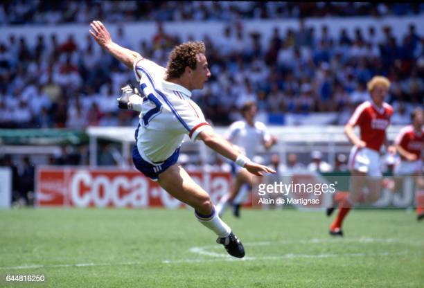 Jean Pierre PAPIN France / URSS Coupe du Monde 1986 Photo Alain de Martignac / Icon Sport