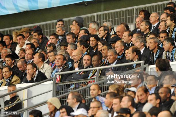 Jean Pierre PAPIN / Jean Pierre PERNAUT / Eric DI MECO / Abedi PELE / Bernard CASONI / Manuel AMOROS Marseille / Milan AC 1er tour Champions League...
