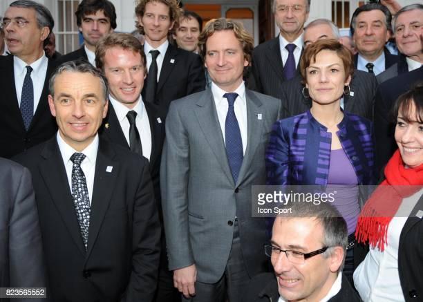 Jean Pierre Vidal / Charles Beigbeder / Chantal JOUANNO - - Fondation du groupement d'interet public - Nomination de Charles Beigbeder comme...