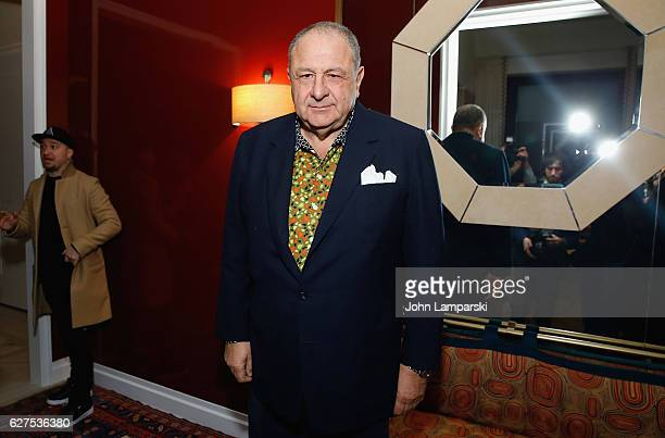 Jean Pigozzi attends the The Cinema Society with Piaget Host an After Party for EuropaCorp's 'Miss Sloane' at 432 Park Avenue Residence 86B on...