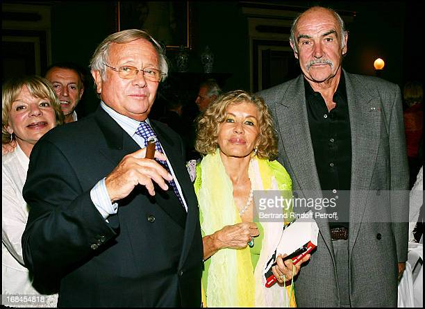 Jean Poniatowski at Sean Connery And Micheline Roquebrune 30 Year Anniversary Party At Chateau De Groussay