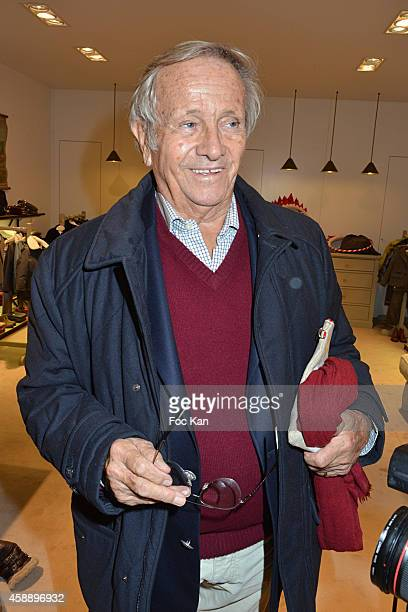 Jean Poniatowski attends the 'Stone for Bonpoint' New Jewellery Collection Cocktail Party At Bonpoint Shop Avenue Montaigne on November 12 2014 in...