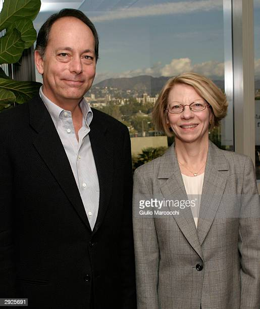 Jean Prewitt President and CEO of AFMA and Jonathan Wolf Executive Vice President of AFMA and Managing Director of the American Film Market attend...