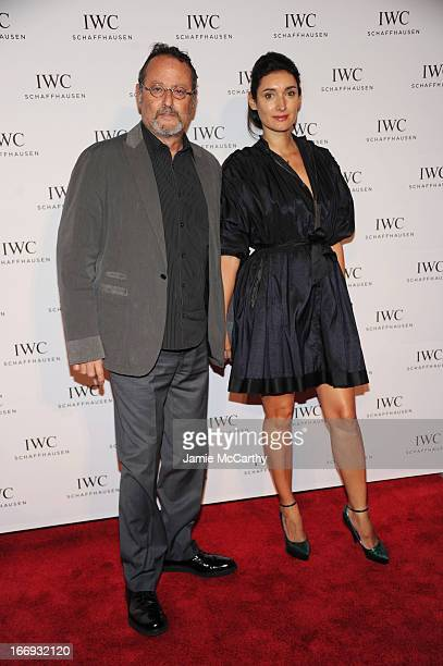 Jean Reno and Zofia Borucka attend IWC and Tribeca Film Festival Celebrate For the Love of Cinema on April 18 2013 in New York City