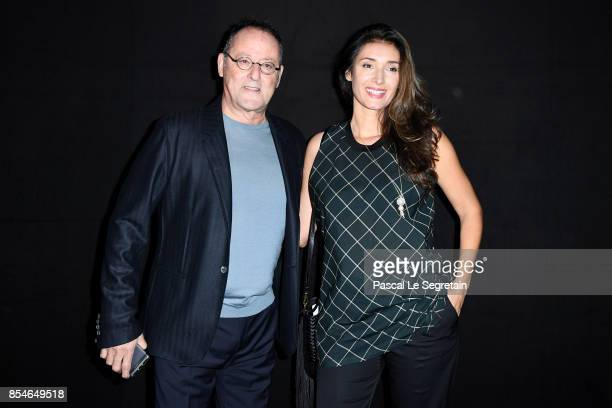 Jean Reno and Zofia Reno attend the Lanvin show as part of the Paris Fashion Week Womenswear Spring/Summer 2018 on September 27 2017 in Paris France