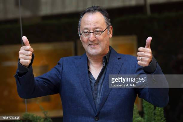 Jean Reno attends 'La Ragazza Nella Nebbia' photocall on October 24 2017 in Rome Italy