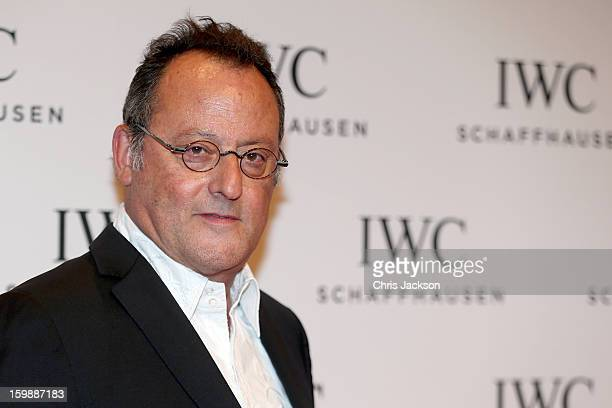 Jean Reno attends the IWC Schaffhausen Race Night event during the Salon International de la Haute Horlogerie 2013 at Palexpo on January 22, 2013 in...