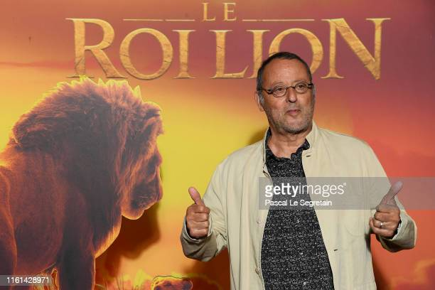 Jean Reno attends The Lion King Paris Gala Screening At Le Grand Rex on July 11 2019 in Paris France