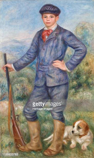 Jean Renoir comme chasseur, 1910. Found in the Collection of Los Angeles County Museum of Art. Artist Renoir, Pierre Auguste .