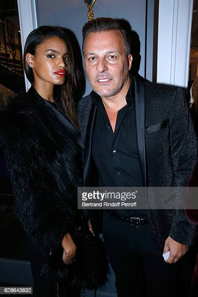 Jean Roch and his wife Anais Monory attend the Annual Charity Dinner hosted by the AEM Association Children of the World for Rwanda at Pavillon...