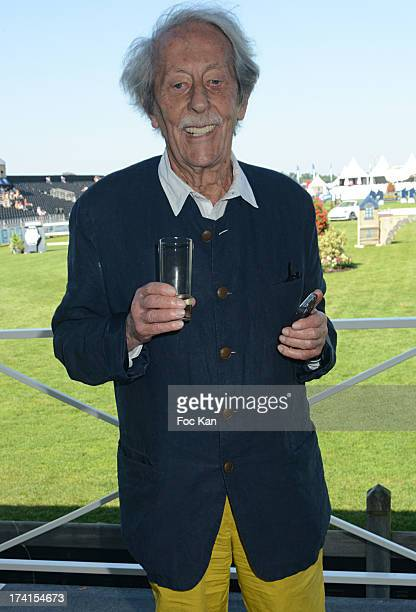 Jean Rochefort attends the AL Sportswear 5th Anniversary during the Longines Global Champions Tour of Chantilly At the Hippodrome De Chantilly on...