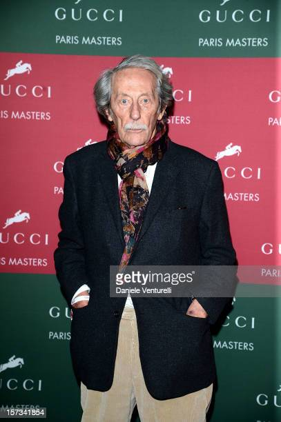 Jean Rochefort attends the Gucci Paris Masters 2012 at Paris Nord Villepinte on December 2 2012 in Paris France