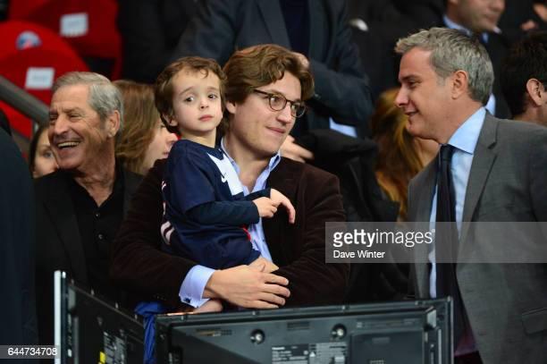 Jean Sarkozy Paris Saint Germain / Chelsea 1/4Finale Aller Champions League Photo Dave Winter / Icon Sport