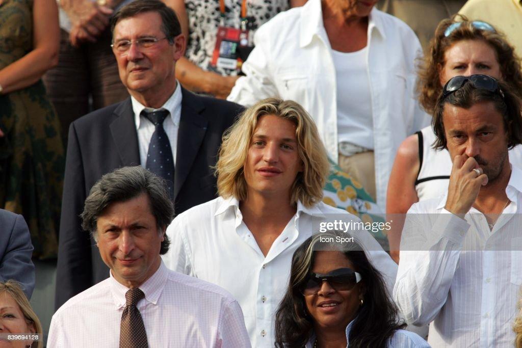 Jean SARKOZY - FInale Roland Garros 2007 - Rafael NADAL / Roger FEDERER - Jour 15 -