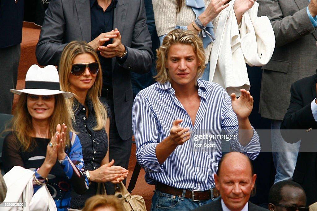Jean SARKOZY - Novak DJOKOVIC / Rafael NADAL - - 1/2 Finale Messieurs - Roland Garros 2007 - Jour 13 -