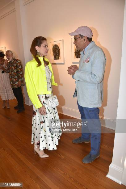 """Jean Shafiroff and Bruce Helander attend the release of Christophe von Hohenberg's new book """"The White Album of The Hamptons"""" and Bruce Helander's..."""