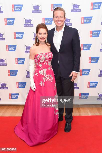 Jean Shafiroff and Chris Wragge attends American Cancer Society Taste Of Hope 12th Annual Event on May 9 2017 in New York City