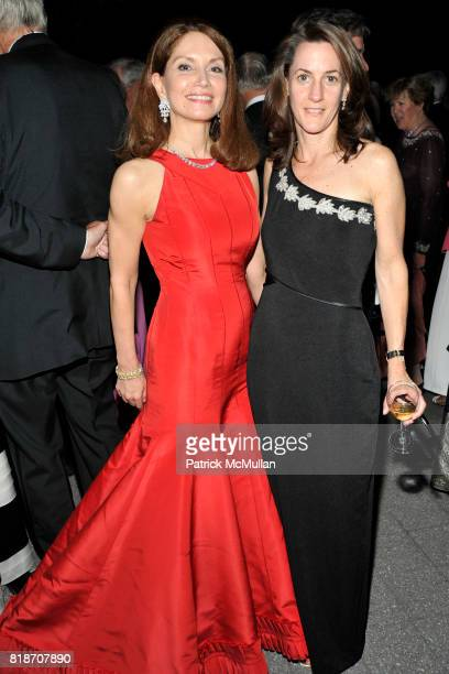 Jean Shafiroff and Emily Knight attend THE CONSERVATORY BALL at The New York Botanical Garden on June 3 2010 in New York City