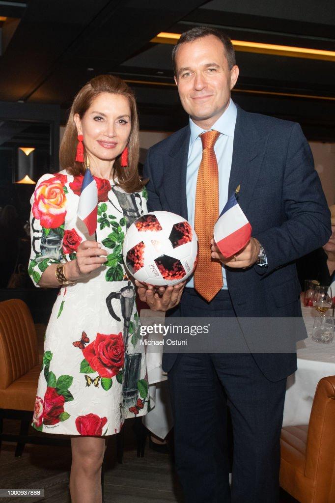Jean Shafiroff Hosts World Cup / Bastille Day Celebration